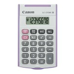 CANON CALCULATOR LC-210HI III, PURPLE