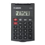 CANON CALCULATOR AS-8, BLACK