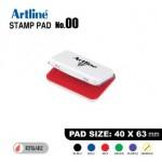 ARTLINE STAMP PAD NO.00 EHJ-1 EHJU-1 40x63mm RED
