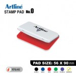ARTLINE STAMP PAD NO.0 EHJ-2 EHJU-2 56X90mm RED