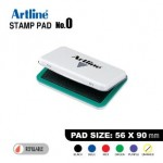 ARTLINE STAMP PAD NO.0 EHJ-2 EHJU-2 56X90mm GREEN