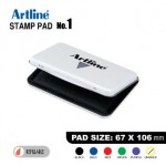 ARTLINE STAMP PAD NO.1 EHJ-3 EHJU-3 67X106mm BLACK