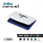 ARTLINE STAMP PAD NO.1 EHJ-3 EHJU-3 67X106mm BLUE