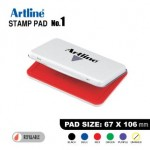 ARTLINE STAMP PAD NO.1 EHJ-3 EHJU-3 67X106mm RED
