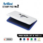 ARTLINE STAMP PAD NO.2 EHJ-4 EHJU-4 87X143mm BLUE