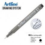 ARTLINE EK231 DRAWING SYSTEM 0.1MM BLACK