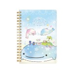 JINBESAN SPIRAL NOTEBOOK 180*125MM 120SHEET NY28701