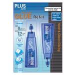 PLUS JAPAN GLUE TAPE NORINO REFILL 2'S 8.4MM X 6M BLUE TG-728NR/2P