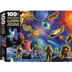 HINKLER PUZZLE SPACE ADVENTURE 100 PCS