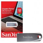 SANDISK 32GB CRUZER FORCE FLASH DRIVE