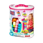 MEGA BLOKS BIG BUILDING BAG 80PCS PINK