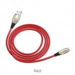 HOCO U71 STAR IP CABLE 2.4A 1.2M RED