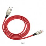 HOCO U71 STAR MICRO CABLE 2.4A 1.2M RED