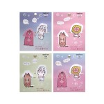 PAGE MARKER BOOKMARK*4 PIECES TR-BB01059 (ASSORTED DESIGNS)