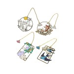 PLATED HOLLOW BOOKMARK TR-BB01075 (ASSORTED DESIGNS)