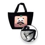 INSULATED ZIPPER LUNCH BAG- PANDA