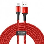 BASEUS CALGH-E09 LIGHTNING CABLE 2A 3METRE RED