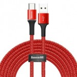 BASEUS CATGH-E09 TYPE-C CABLE 2A 3METRE RED