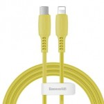 BASEUS CATLDC-0Y TYPE-C TO LIGHTNING CABLE 18W 1.2METRE YELLOW