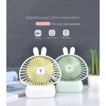 HANDY FAN WITH LIGHT WHITE (LJQ108)