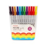 MONAMI SUPER SIGN PEN 12s Colours