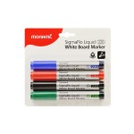 MONAMI SigmaFlo 220 Board Marker Bullet Point 4 colours