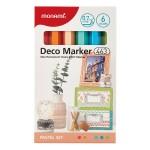 MONAMI 463 Deco Marker Set - Pastel