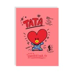 BT21 LINE NOTEBOOK 188*257MM 32SHEET (TATA)