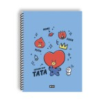 BT21 SPRING NOTEBOOK 188*257MM 28SHEET (TATA)