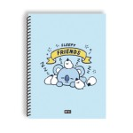 BT21 SPRING NOTEBOOK 188*257MM 28SHEET (KOYA)