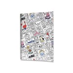 BT21 SPRING NOTEBOOK 188*257MM 28SHEET (GROUP)