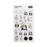 BT21 EPOXY STICKER ZODIAC (RJ)
