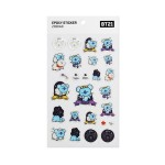 BT21 EPOXY STICKER ZODIAC (KOYA)