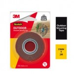 3M SCOTCH OUTDOOR PERMANENT MOUNTING TAPE (21MM X 2M) (1 ROLL/PCK)