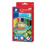 STAEDTLER LUNA COLOURED PENCILS - 12 COLOURS