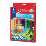 STAEDTLER LUNA COLOURED PENCILS - 24 COLOURS