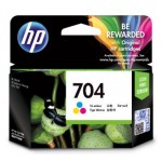 HP 704 TRI-COLOR INK CARTRIDGE (CN693AA)