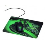 RAZER ABYSSUS LITE GAMING MOUSE BUNDLE WITH RAZER GOLIATHUS MOBILE CONSTRUCT EDITION GAMING MOUSE MAT