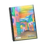 POP ARTZ  SKETCH BOOK A4 125 GSM 60 SHEETS PA-15C-A4-B