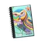 POP ARTZ  SKETCH BOOK A4 125 GSM 60 SHEETS PA-15C-A4-C