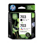HP 703 COMBO PACK INK CART (F6V32AA)