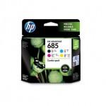 HP 685 CMYK COMBO PACK INK CART(F6V35AA)