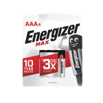 ENERGIZER MAX AAA Battery 4'S