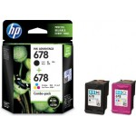 HP 678 COMBO PACK INK CART L0S24AA