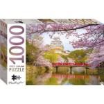 HINKLER JIGSAW PUZZLE HIMEJI CASTLE JAPAN 1000PCS