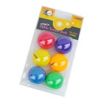 AERO TABLE TENNIS BALL MIX COLOR 40mm 6PCS