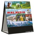 Desk Top Calendar Linmaster DTC704 - Exploring Malaysia