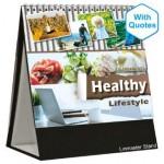 Desk Top Calendar Linmaster DTC705 - Healthy Lifestyle