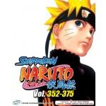 NARUTO SHIPPUDEN 火影忍者疾风传 VOL.352 - 375 BOX 10 (4 DVD)