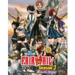 FAIRY TAIL  SEASON 2  魔導少年第二季   VOL. 53 - 104 END   (3DVD)